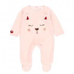 Babygrow veludo bordado do...
