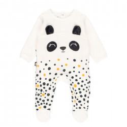 """Babygrow veludo """"urso"""" do bébé"""