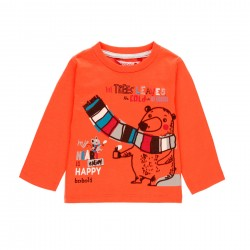 """Camiseta malha """"urso"""" para..."""