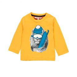 "Camiseta malha ""animais""..."