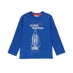 Camiseta malha foguetes...