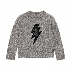 "Pullover tricot ""rock"" para..."