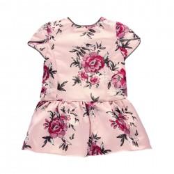 """Vestido fantasia """"floral""""..."""