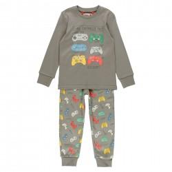 Pijama interlock para menino