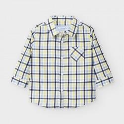 Camisa m/comp. popelin