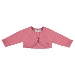 Casaco curto tricot básico
