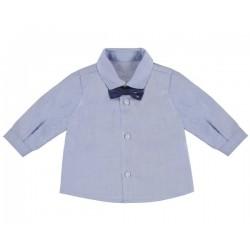 Camisa m/comp. e laço