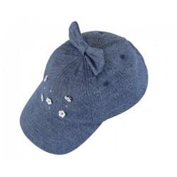 Chapéu flor aplicação