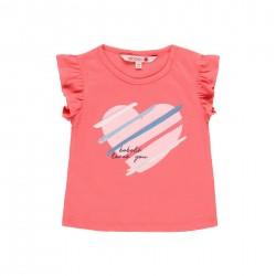 """Camiseta malha """"coração""""..."""