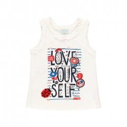 """Camiseta malha """"bbl love""""..."""