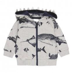 "Casaco felpa ""tubarões""..."