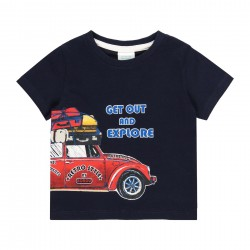 """Camiseta malha """"summer""""..."""