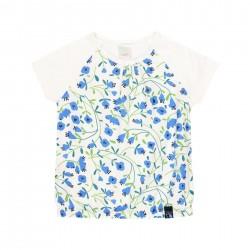Camiseta combinada para menina