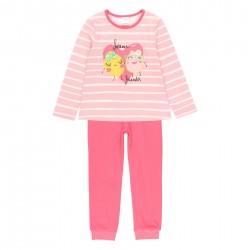 """Pijama malha """"coração"""" para..."""