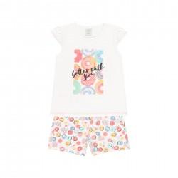 Pijama malha para menina