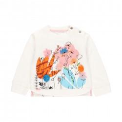 "Sweatshirt felpa ""floral""..."