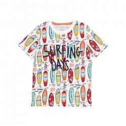 "Camiseta malha ""surfing""..."