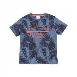 "Camiseta malha ""folhas""..."