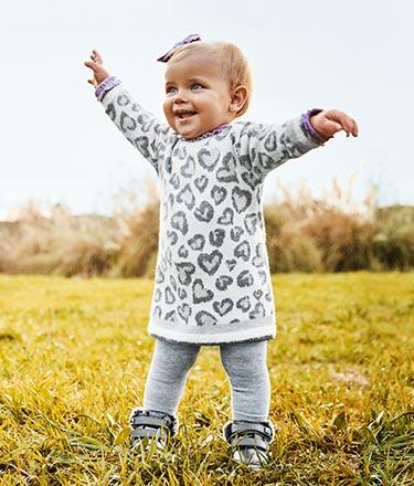 Bebé menina - 6 a 24 meses